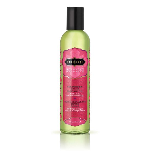 Naturals Massage Oil Strawberry Divine