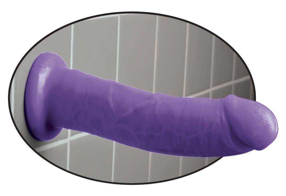 """8"""" Dillio purple thumbnail"""